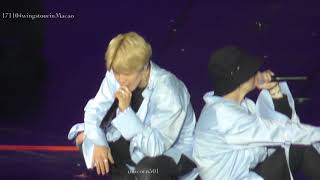 171104 Spring day mainly V @BTS wings macao macau