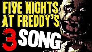FIVE NIGHTS AT FREDDY'S 3 SONG 'Just An Attraction' FNAF Music Video