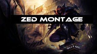 Zed Montage 2 - Best of Aczak November 2016 - League Of Legends