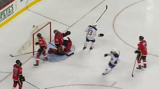 Sabres' Wilson answers back just 24 seconds after Flames score