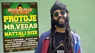 Announcement: Protoje @Reggaeville Easter Special 2017