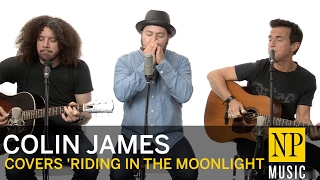 Colin James performs 'Riding In The Moonlight' NP Music in studio