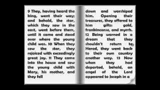 Audio Bible: The New Testament - The Gospel of Matthew Chapter 2