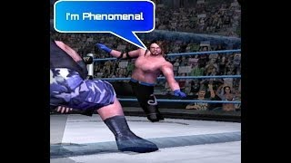 Aj Styles in WWE Smackdown! Here Comes The Pain    Moves and Finishers