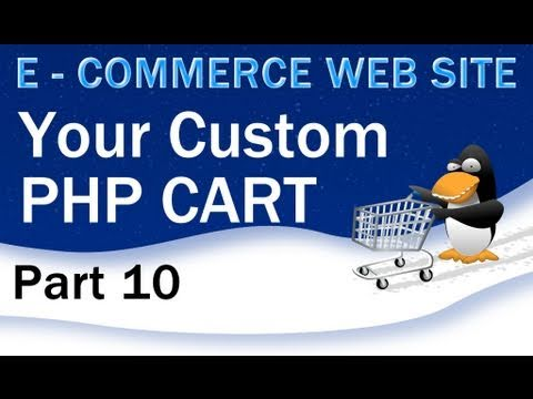 10. E - Commerce Website Tutorial - Shopping Cart PHP Multidimensional Array +