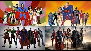 Justice League - Evolution in TV & Films (1967-2017) width=