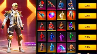 BUYING 130.000 DIAMONDS💎💎Free Fire LV1 account to *PRO* - look how it BECAME😱🔥