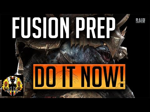 RAID: Shadow Legends | How to prepare for a Fusion Legendary! DO IT NOW!!