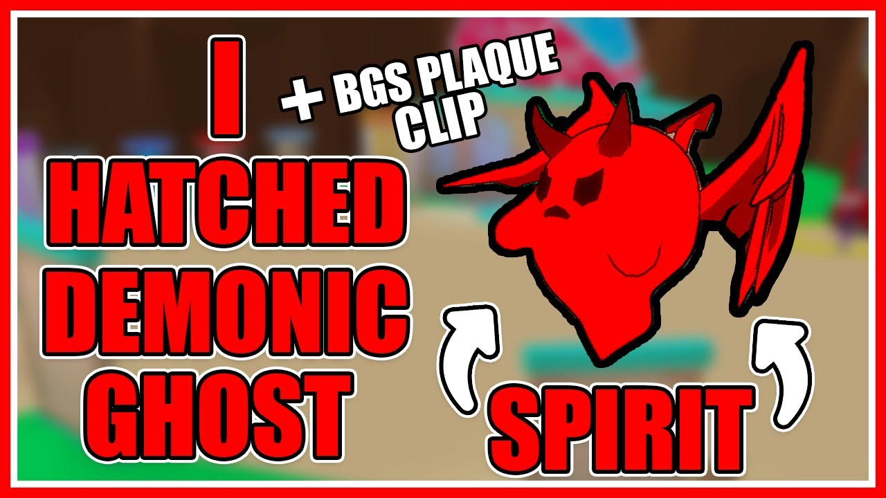 Elkonn8tor - *OMG* I Hatched DEMONIC GHOST SPIRIT in Bubble Gum Simulator (Roblox)