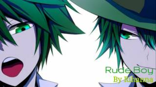 Nightcore - Rude Boy (Male Version)