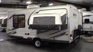 2013 Forest River Wildwood X-Lite 171EXL Hybrid Travel Trailer