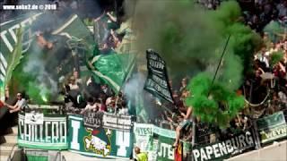 Soke2 2017/2018 Pyro Intro Bremen - VfB Stuttgart - SV Werder (21.04.18)