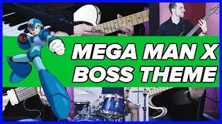Mega Man X - Maverick Battle (Boss Theme) - METAL COVER