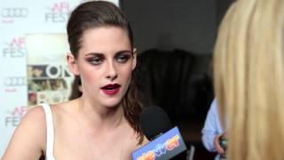 Kristen Stewart On The Road Interview - Exclusive