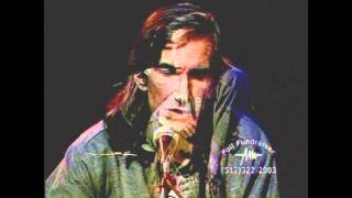 """TOWNES VAN ZANDT - """"Flying Shoes"""" intro on Solo Sessions, January 17, 1995"""