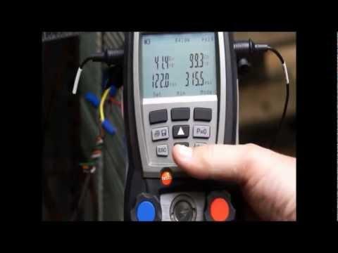 Test Teknik - testo dijital manifold 570