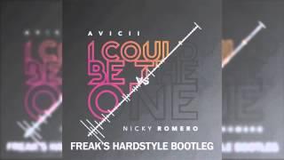 Avicii vs Nicky Romero - I Could Be The One (Freak's Hardstyle Bootleg)