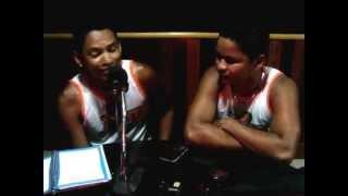 EQUIPE DO PORTAL AVIZ FALANDO DA NOITE DOS BADALADOS NO PROGRAMA AGITO 106 FM