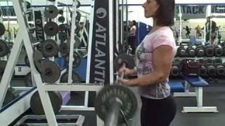Female Bicep Workout Video Clip