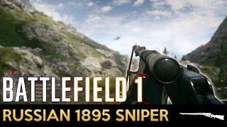 Battlefield 1 - Weapon Showcase - Russian 1895 Sniper