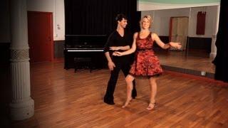 How to Do Sliding Doors in Swing Dance | Ballroom Dance