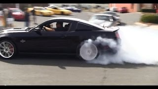 SVT Cobra Club and Pro-Dyno Cruise-In, Leaving Show HD - Part 1