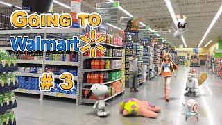 SpongeBob in real life 45 - Going to Walmart # 3
