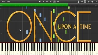 Once Upon a Time - Main title (Intro) - Piano tutorial (Synthesia)