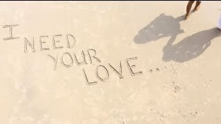 Calvin Harris ft.Ellie Goulding - I Need Your Love (LYRICS)