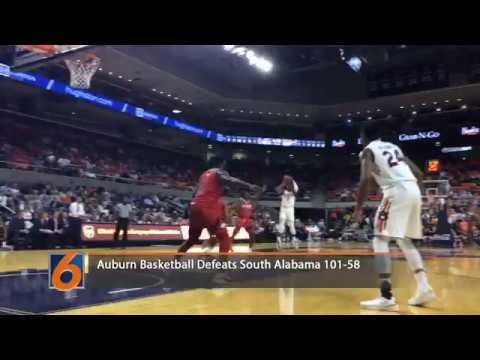 Auburn Basketball Highlights Vs South Alabama