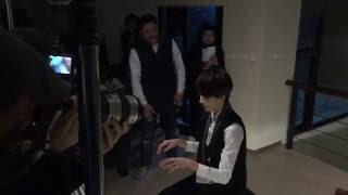 《終極一班4》幕後花絮Youku 3.1.1: 雷婷跟空氣彈鋼琴