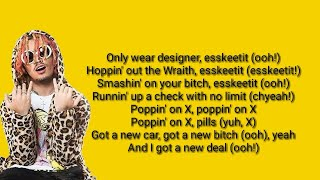 Lilpump -  🔥ESKETIT🔥[Instrumental + Lyrics] (KARAOKE)