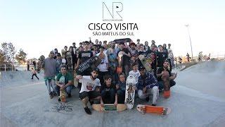 NO ROLE COM CAROLINO -  Cisco visita São Mateus do Sul 16