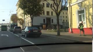 Оригинальный способ перевозки груза в BMW