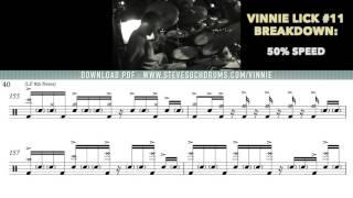 Vinnie Colaiuta LICK #11 - [ 24 Days Of Vinnie ]