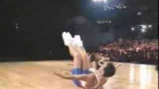 National Aerobics Championship 1992 USA Mixed Pair