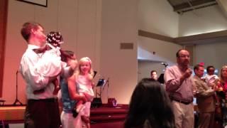 Sarah Grace's Baptism - Vows