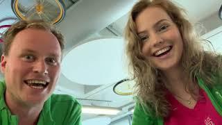 Weekvlog 1 van Blijwin de Kinder-DJ & Lotte Lollig!