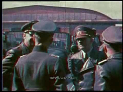 1941 Amateur Footage Filmed in Ukraine by Hitler's Pilot Hans Baur