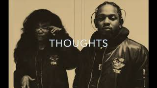 "[FREE] KENDRICK LAMAR X SZA TYPE BEAT ""THOUGHTS"" (PROD THE BEAT PROVIDER)"