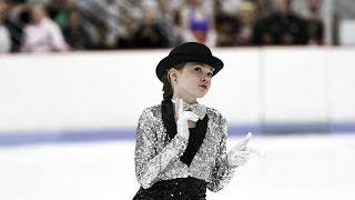 Allie's Figure Skating Showcase - Chicago Intro /All That Jazz On Ice