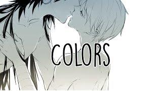 Nightcore - Colors [male] +lyrics