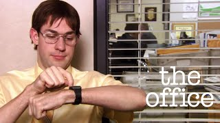 The Office US - Jim vs Dwight - Jim Impersonates Dwight width=