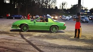 WhipAddict: Stunt Sunday Atlanta; Custom Cars, Muscle Cars, Burnouts