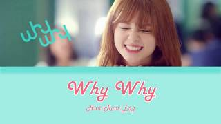 Shannon Williams - Why Why (왜요 왜요) Lyrics (Han/Rom/Eng)