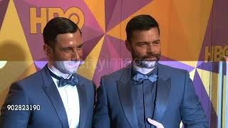 Ricky Martin and Jwan Yosef || Golden Globe Awards