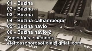 Buzina Buzina calhambeque e Buzina Navio - Efeitos Sonoros Oficial