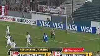 Estudiantes de la Plata (ARG) 5 vs 1 Juan Aurich (PER) - Copa Libertadores 2010