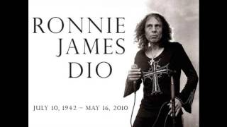 Ronnie James Dio ft Maver - Rainbow in the Dark (piano and voice version)
