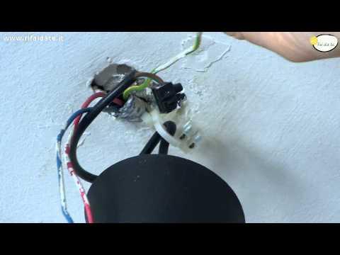Come montare i lampadari e le luci di casa fai da te mania for Collegare fili elettrici